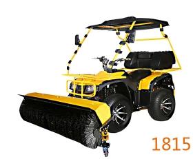 驾驶式扫雪车